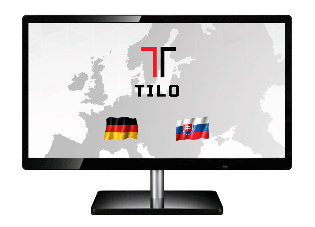Webstránka pre TILO s.r.o.