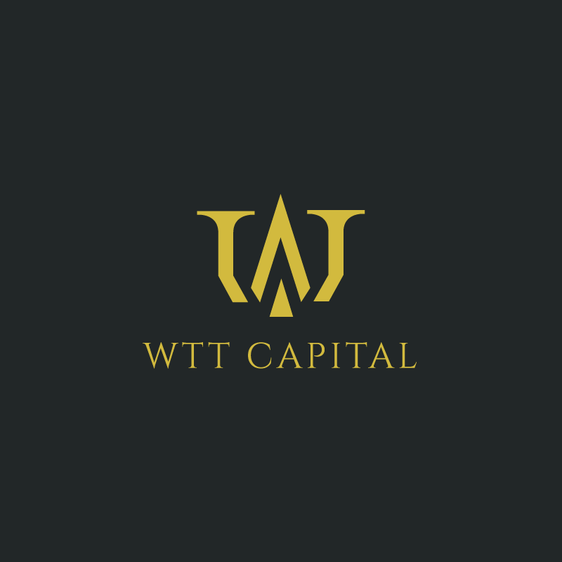 Tvorba loga WTT Capital.