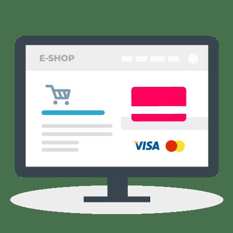 Tvorba webstránok - platba kartou