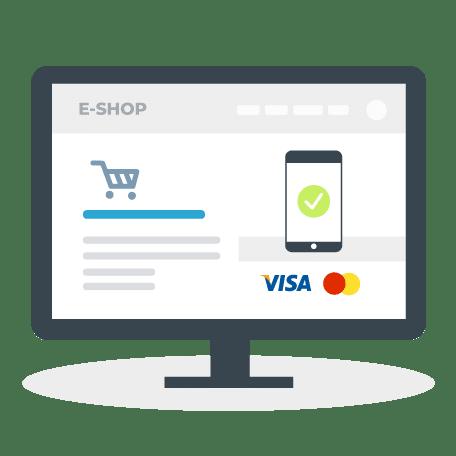 Tvorba webstránok - platba mobilom