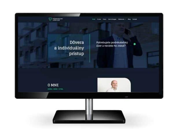 Tvorba webstránok. Podnikatelskeuvery.com