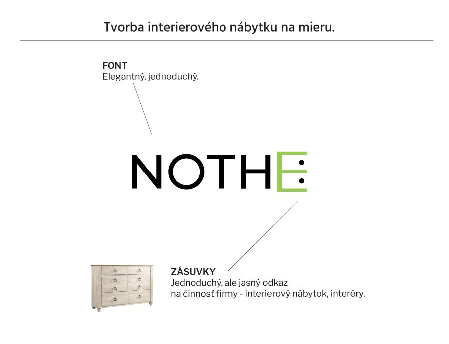 Vytvorenie loga pre nábytkársku firmu