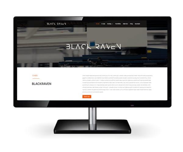 Tvorba webstránky Blackraven