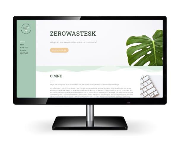 Tvorba firemnej identity Zerowastesk