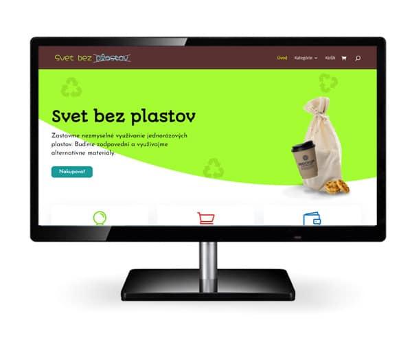 Vytvorenie eshopu svetbezplastov.sk