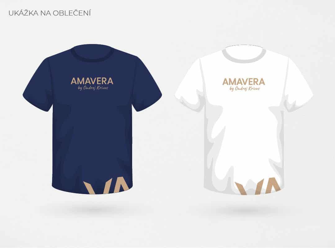 Návrh na oblečení firemnej identity AMAVERA
