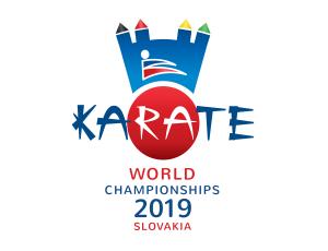 logo majstrovsta sveta MS v karate slovensko 2019