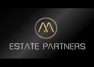 Vytvorenie loga Estate Partners.